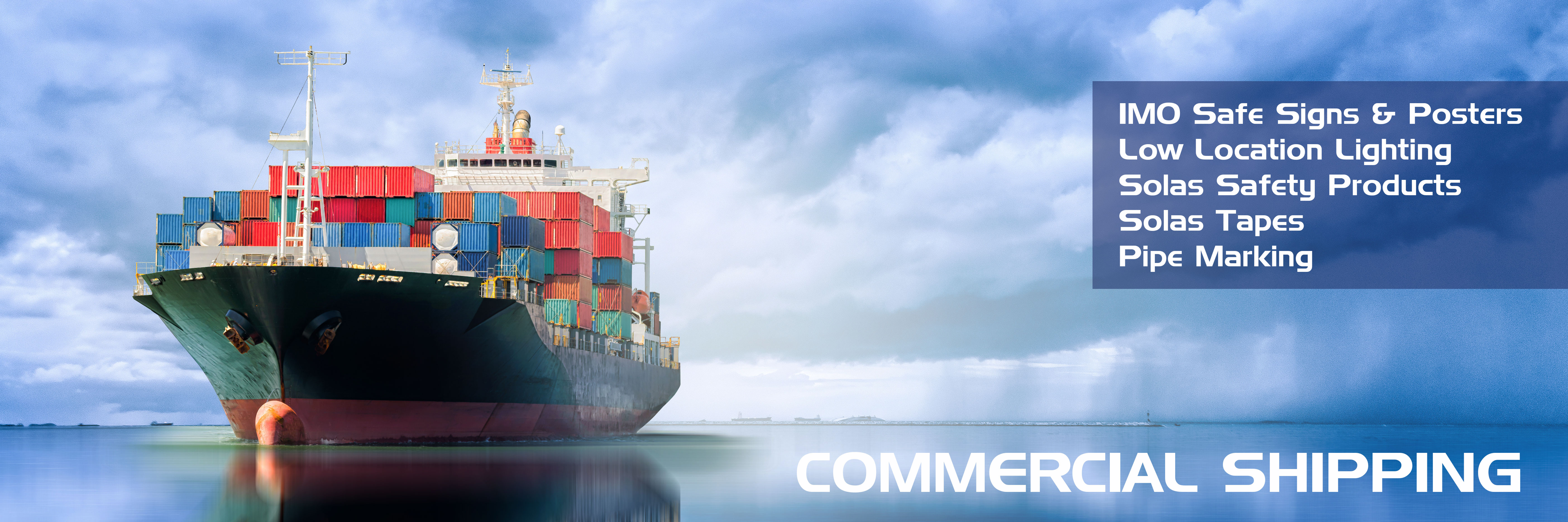 COMMERCIAL SHIPPING T-ISS Safety Suppliers