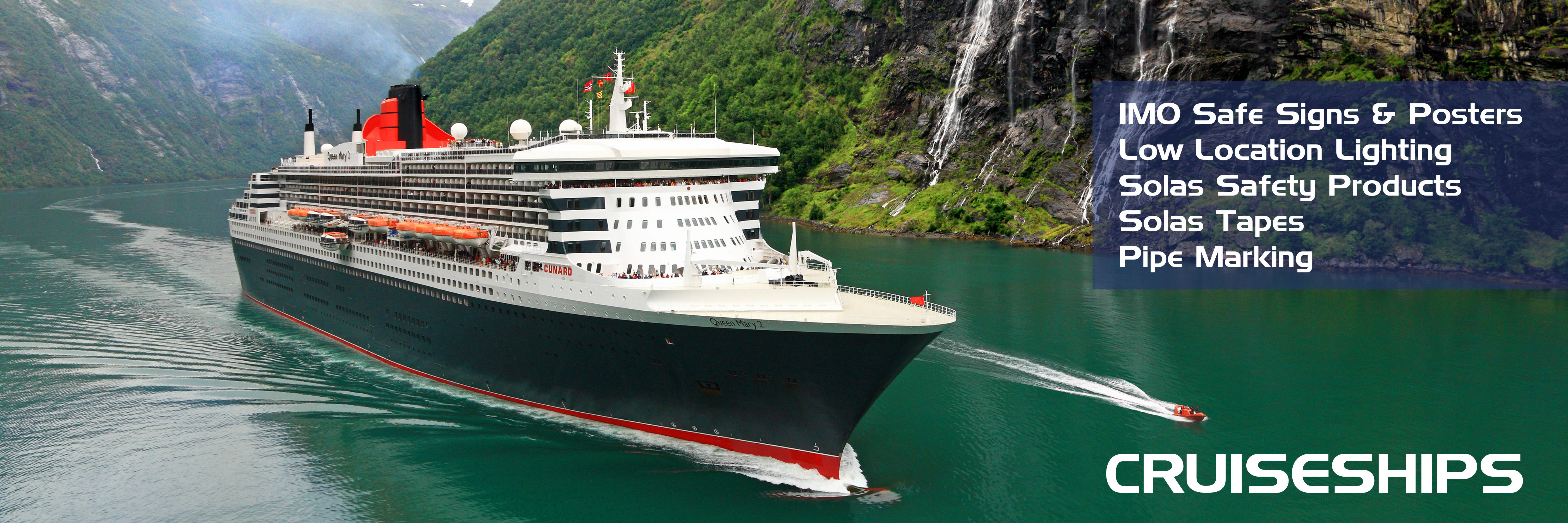 CRUISESHIPS T-ISS Safety Suppliers