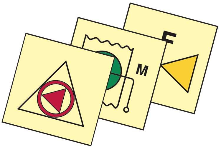 Fire Control Symbols Signs Image