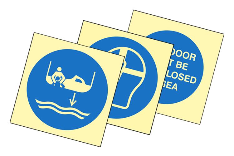 Mandatory / Cargo Signs Image