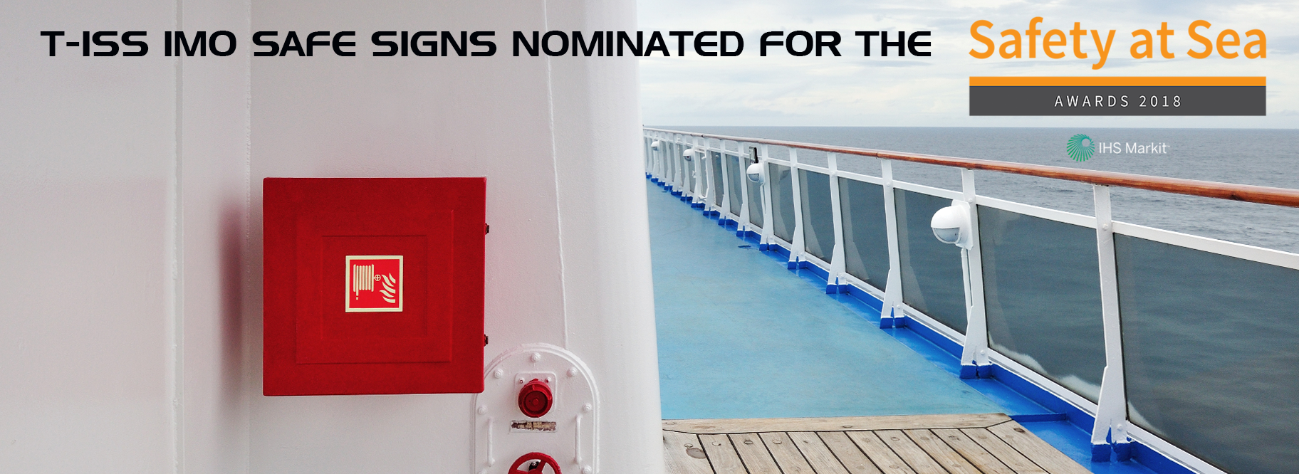 Safety at Sea award 2018 T-ISS Safe Signs
