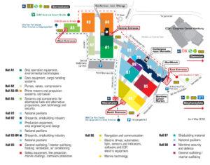 Floorplan SMM Hamburg september 2018 T-ISS Safety Suppliers