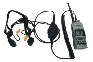 Atex transceiver with Headset PTT Application T-ISS Safety Suppliers