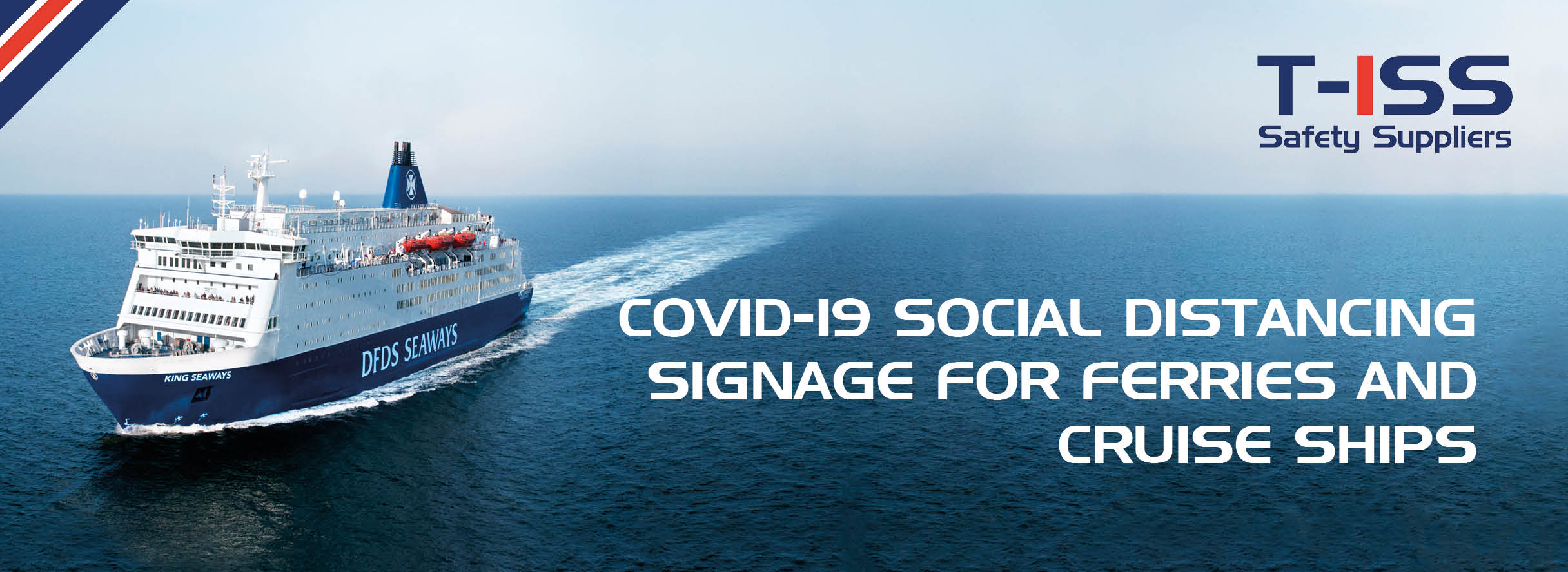 Social Distancing signage COVID-19 by T-ISS Safety Suppliers