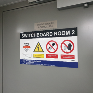 Implementation 1 complete escape route signage system by T-ISS Safety Suppliers
