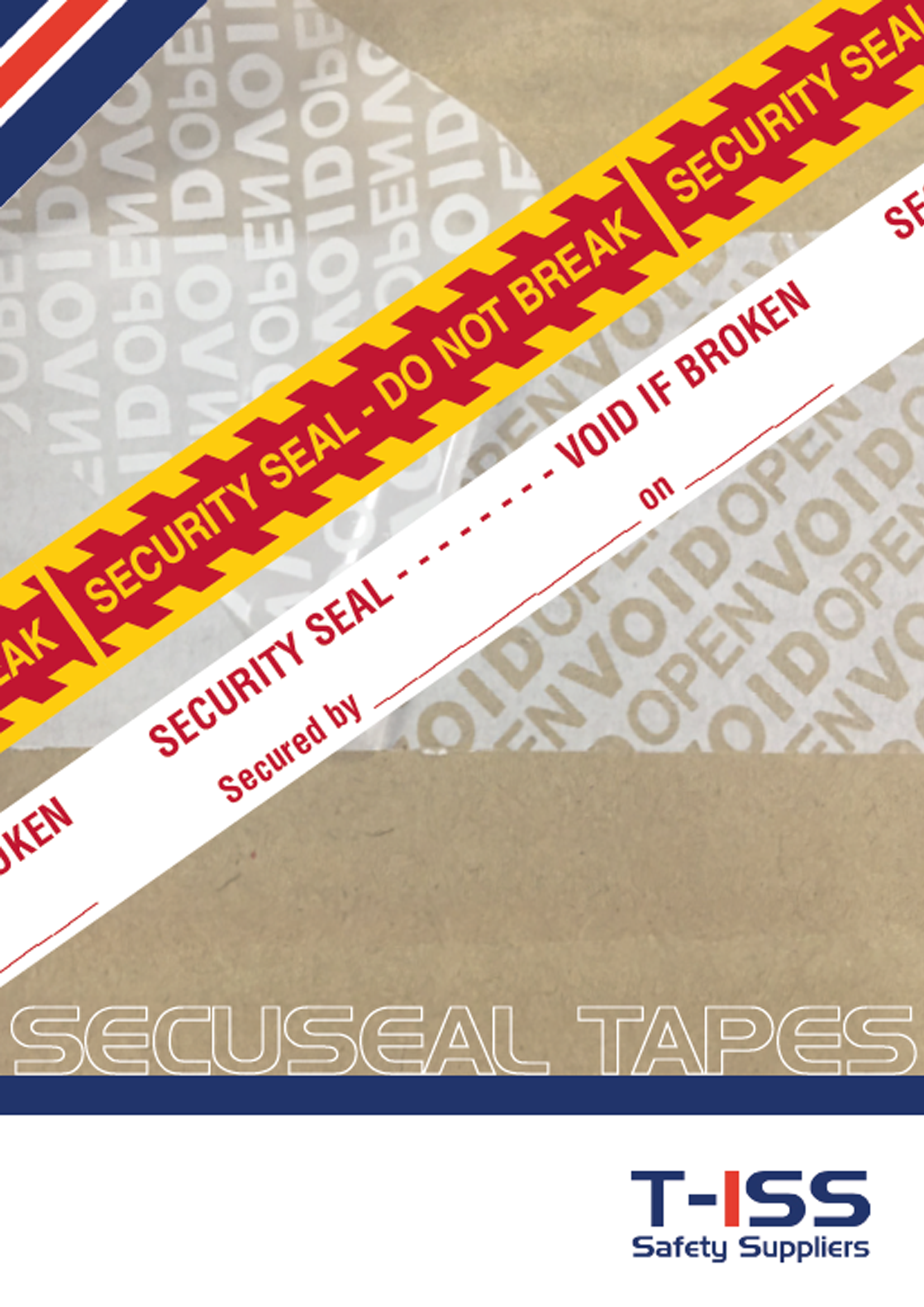 Flyer SecuSeal by T-ISS Safety Suppliers