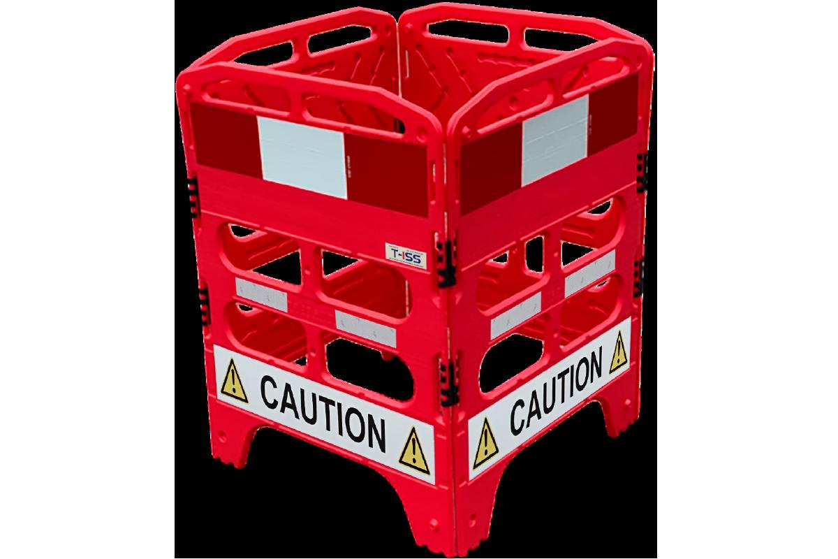 Utility Manhole Barrier Image