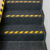 Anti Slip tape black yellow applied T-ISS Safety Suppliers