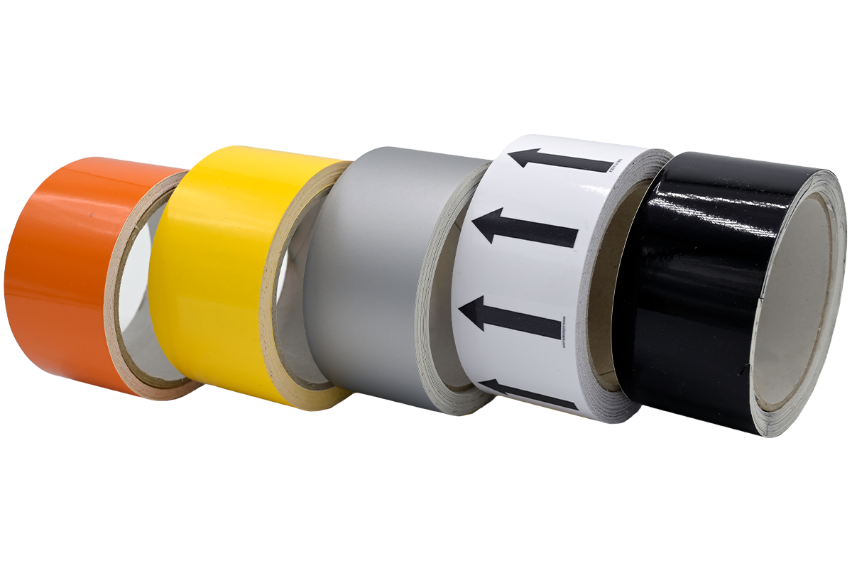 Single Color Pipe Marking Image