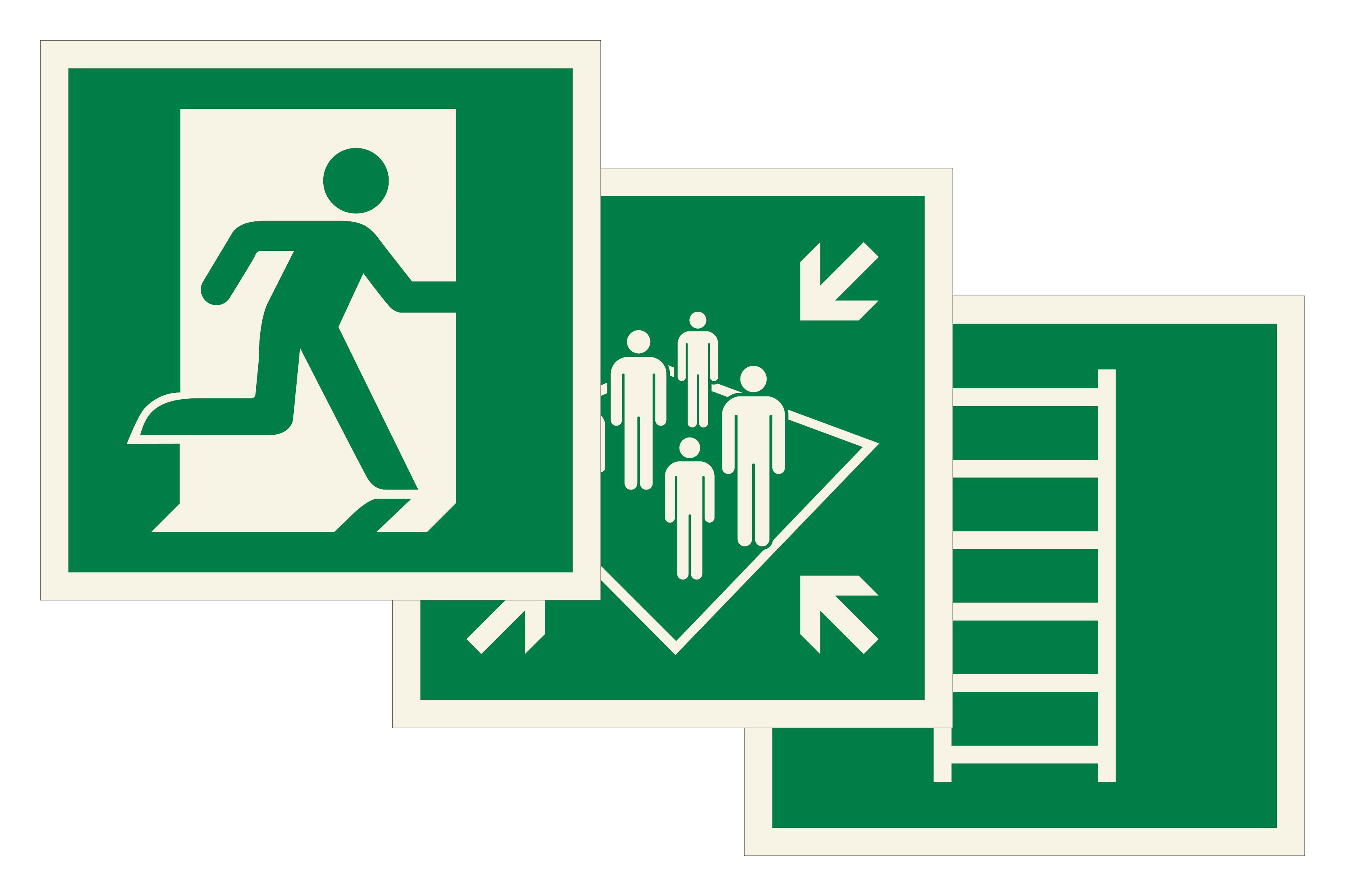 Escape Route Signs Image