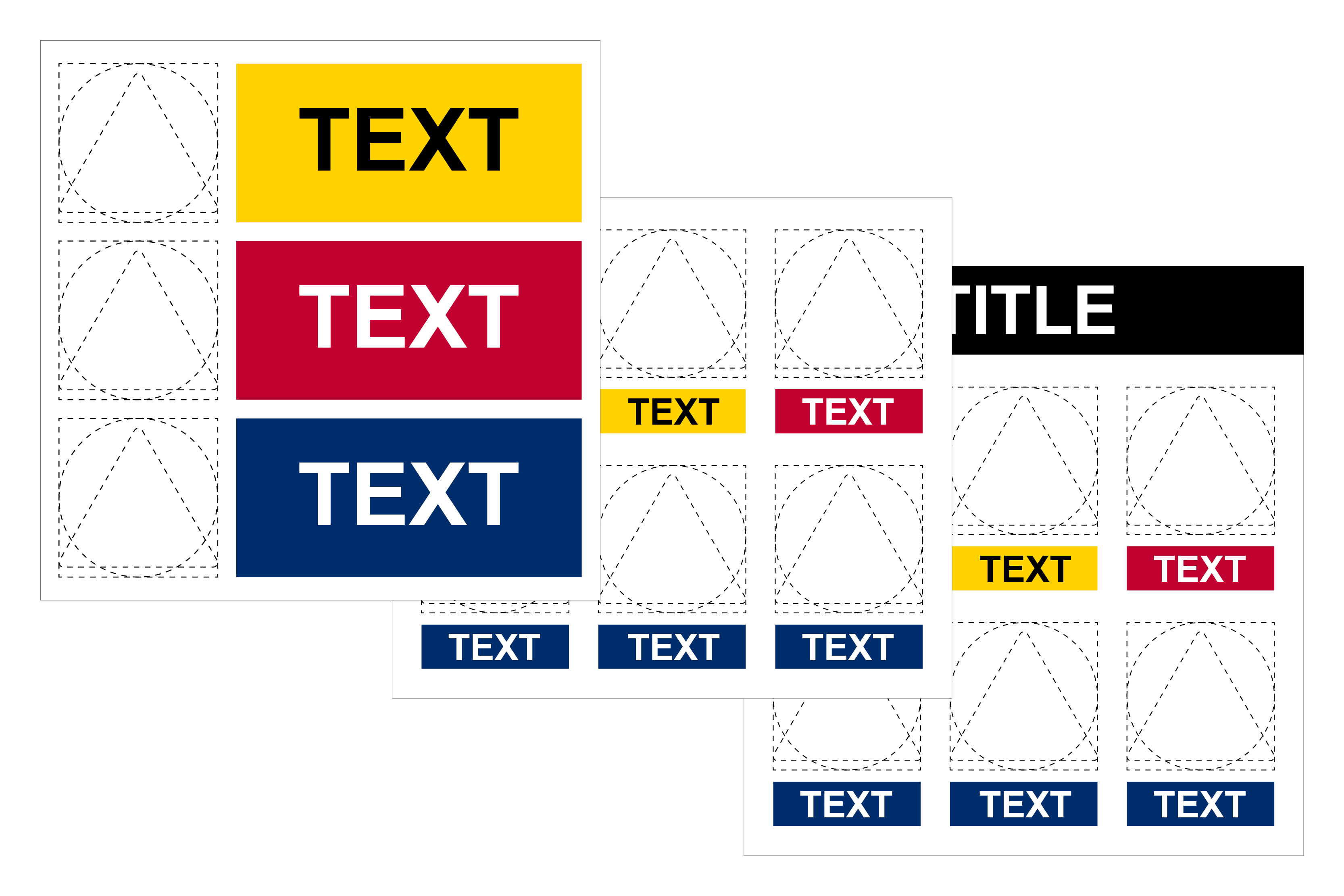 Multiple Signs Custom Made Image