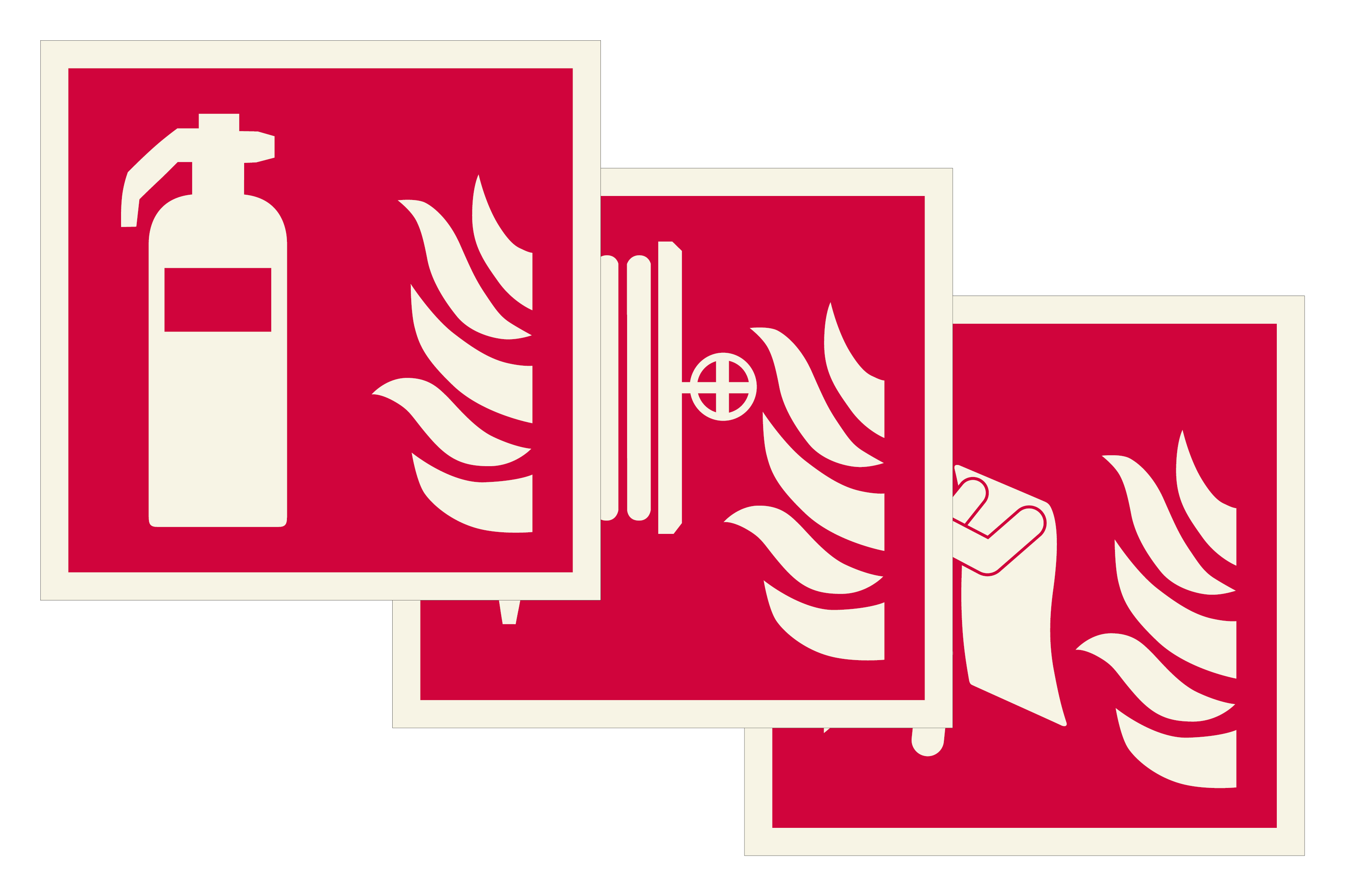 Fire Fighting Signs Image