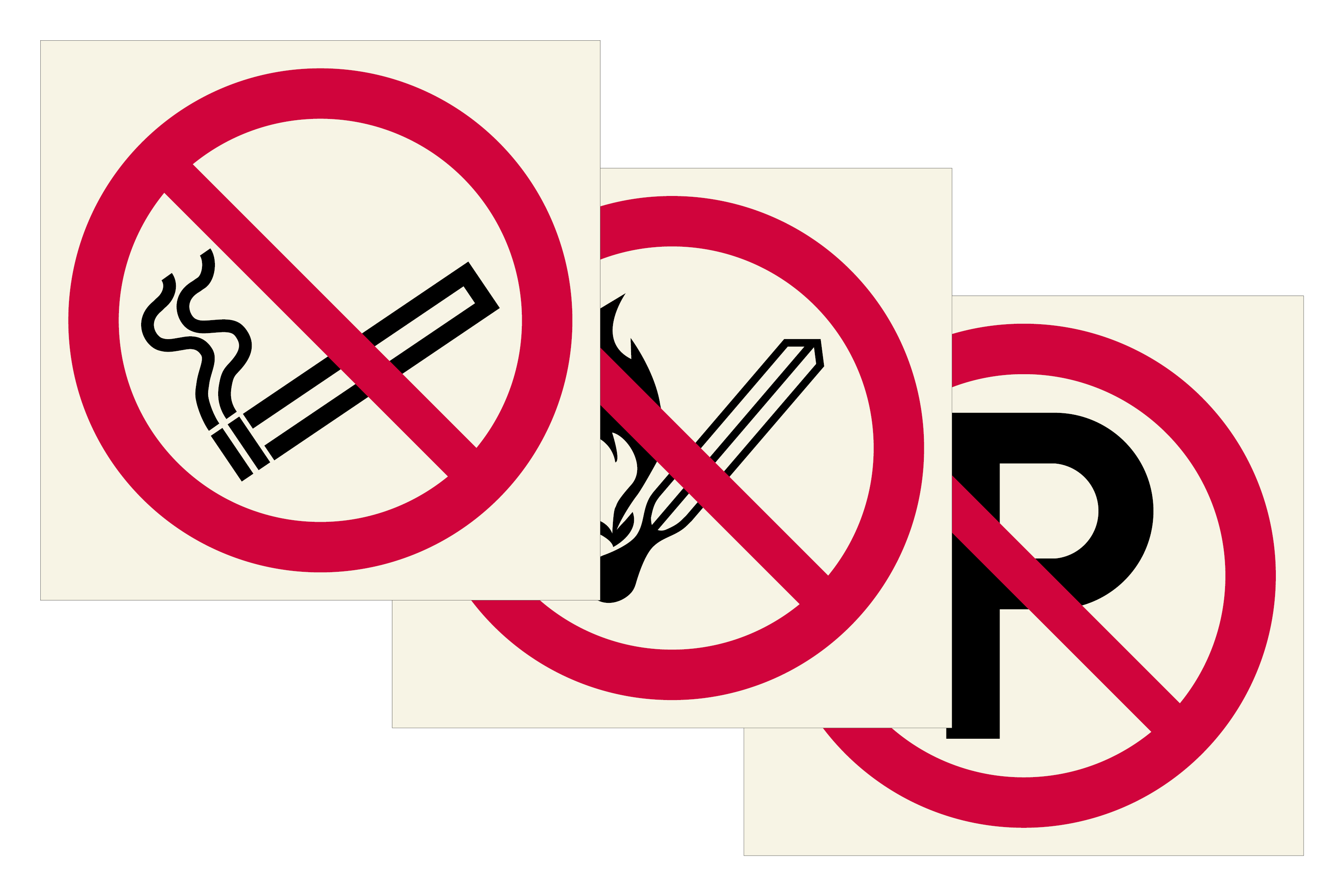 Prohibition Signs Image