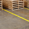 Floor Marking Tape Yellow applied T-ISS Safety Suppliers