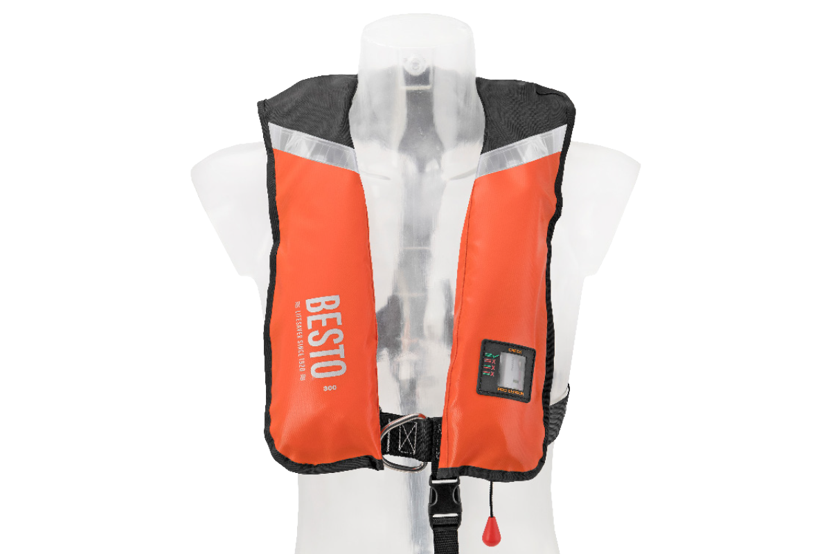 Besto Inflatable Professional Style Lifejacket Image